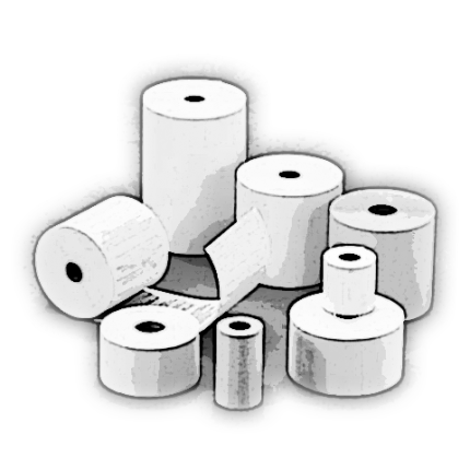 Rouleaux thermiques imprimés