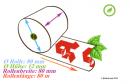 40 rouleaux thermiques 80x80x12, 80 m avec le «A» rouge des pharmacies (Apotheken)