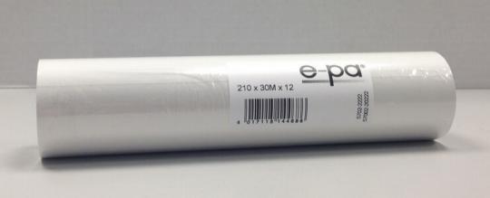 6 rouleaux pour fax 216x50x12, 30 m, sans bisphénol-A (BPA)