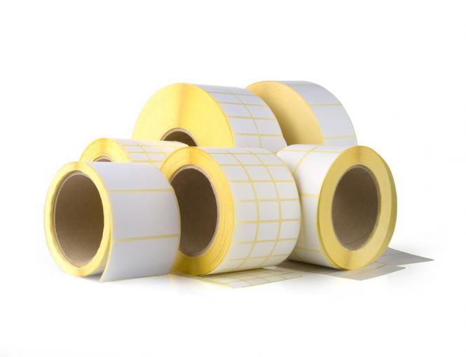 Étiquettes thermiques vierges 58x53x40, 24 rouleaux